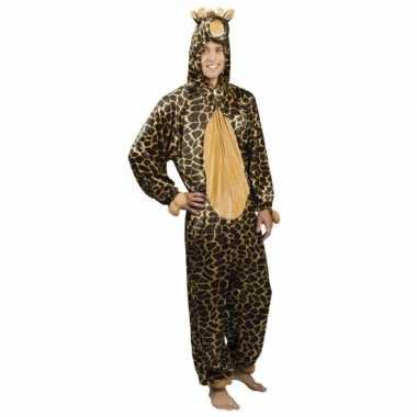 Canaval onesie giraffe heren huispak