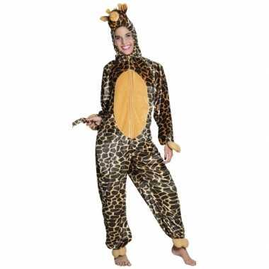 Canaval onesie giraffe kinderen huispak