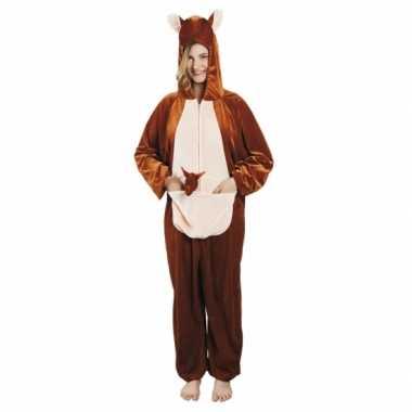 Canaval onesie kangoeroe dames huispak