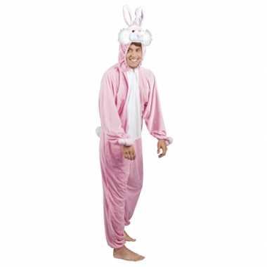 Canaval onesie konijn/ haas heren huispak