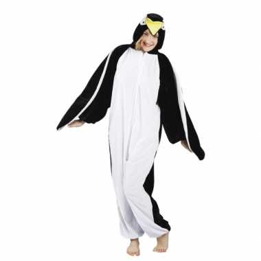Canaval onesie pinguin dames huispak