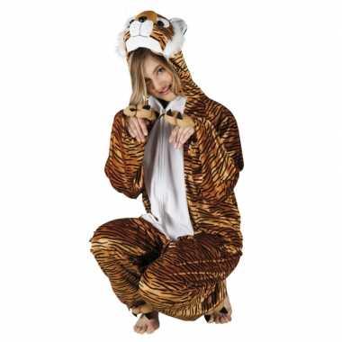 Canaval onesie tijger dames huispak