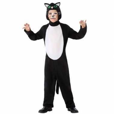 Dierenpak kat/poes verkleed kostuum kinderen huispak