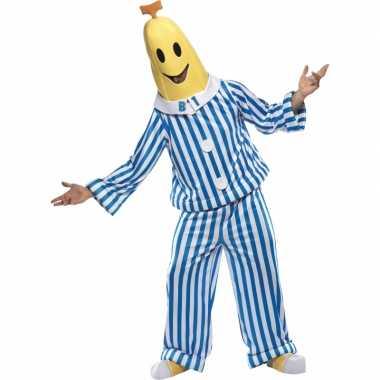 Herenpak bananas pyjamas huispak
