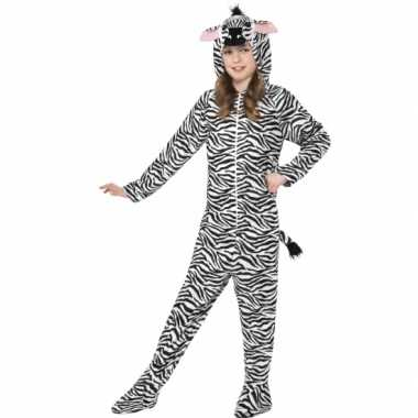 Jumpsuit zebra all-one kinderen huispak