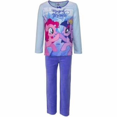 My little pony pyjama magical friends paars meisjes huispak
