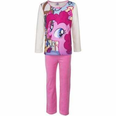 My little pony pyjama pinkie pie roze meisjes huispak