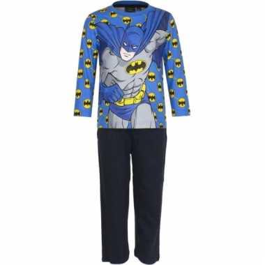 Pyjama batman blauw huispak