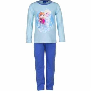 Pyjama frozen blauw huispak