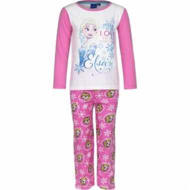 Pyjama frozen elsa roze huispak