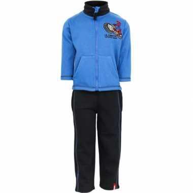 Spiderman joggingpak blauw huispak