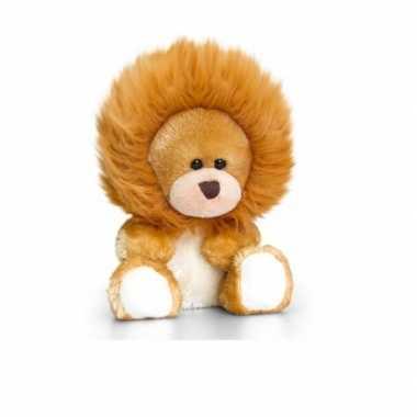 Zittende beer leeuwen onesie 14cm huispak