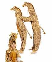 Carnaval giraffe kostuum kinderen huispak