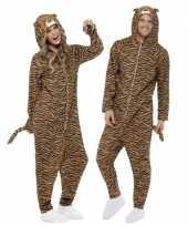 Jumpsuit tijger all one volwassenen huispak
